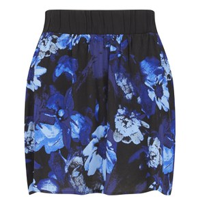 Gestuz Women's Skylar Skirt - Blue Print