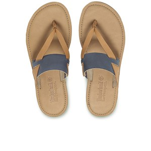 Timberland Women's Earthkeepers Sheafe Thong Sandals - Folkstone Grey/Tan