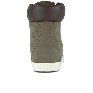 timberland women's earthkeepers glastenbury 6 inch boots - slush grey nubuck