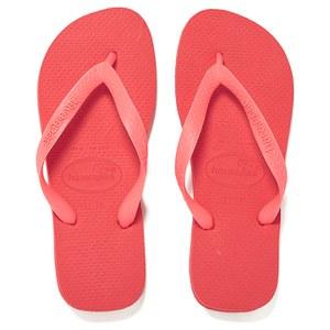 Havaianas Unisex Top Flip Flops - Coralnew