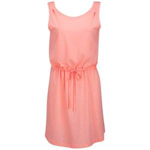 ONLY Women's April Beach Dress - Pale Neon Orange