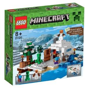 LEGO Minecraft: Das Versteck im Schnee (21120)