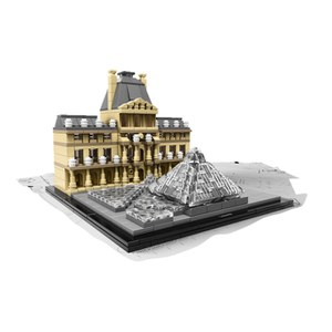 Cross border:- LEGO Architecture: Louver (21024) low price