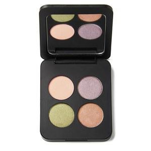 Cuarteto de sombras de ojos minerales compactas de Youngblood - Piedras Preciosas