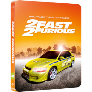 2 Fast 2 Furious  - Zavvi Exclusive Limited Edition Steelbook (Limited to 2000 Copies and Includes UltraViolet Copy)