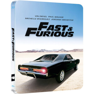 Fast & Furious - Zavvi UK Exclusive Limited Edition Steelbook (Limited to 2000 Copies and Includes UltraViolet Copy)