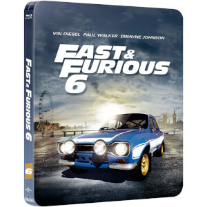 Fast & Furious 6 - Zavvi Exclusive Limited Edition Steelbook (Limited to 2000 Copies and Includes UltraViolet Copy)
