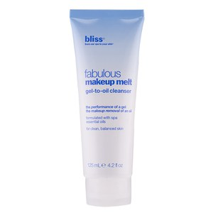 bliss Fabulous Make-Up Melt Gel-to-Oil Cleanser (125 ml)