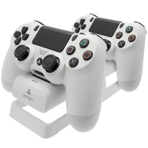 Station de recharge PS4 Manette + Batterie -Blanc