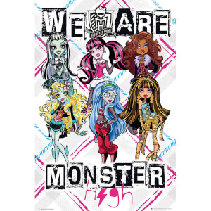 Monster High We Are - Maxi Poster - 61 x 91.5cm