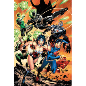 DC Comics Justice League Charge - Maxi Poster - 61 x 91.5cm