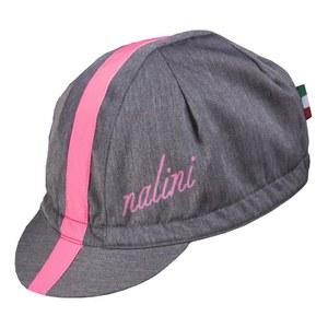 Nalini Blue Label Settanta Cycling Cap - Grey/Pink