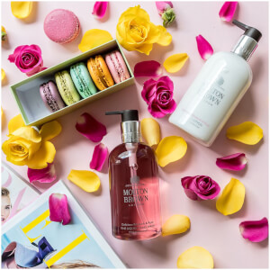 Molton Brown Delicious Rhubarb and Rose Hand Wash (300ml): Image 4