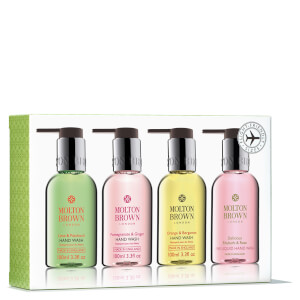 Kit de gel de manos Bestsellers Travel Hand Wash Set de Molton Brown (4 x 100 ml)