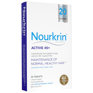 Nourkrin Active 45+ Supplements - 30 Tablets (1 Month Supply)