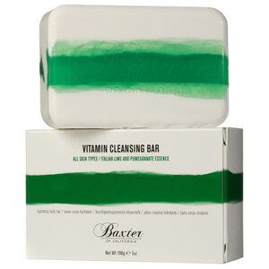 Baxter of California Vitamin Cleansing Bar -saippua - Italian Lime 198g