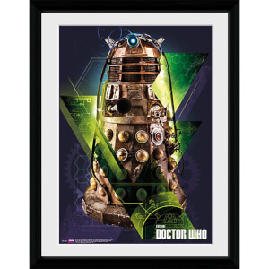 Doctor Who Dalek - 16x12 Framed Photographic