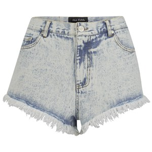 The Fifth Label Women's Midnight Mood Denim Shorts - Washed Denim