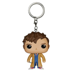 Porte-clés Pocket Pop! Doctor Who 10ème Docteur