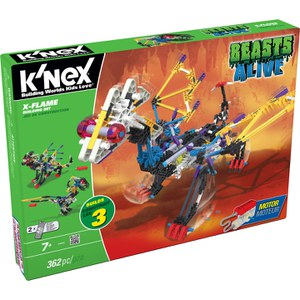K'NEX Beasts Alive! X Flame Building Set (34692)