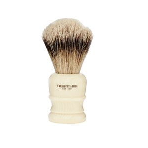 Truefitt & Hill Wellington Super Badger Shave Brush - Faux Ivory