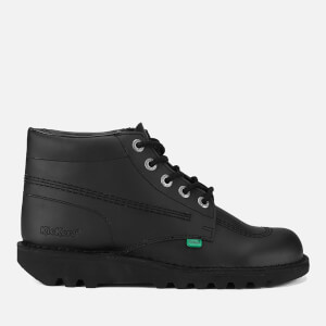 Bottines en Cuir Homme Kickers Kick Hi -Noir