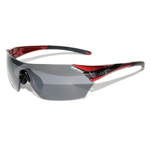 Tifosi Podium Sunglasses - Metallic Red/Fototec Smoke