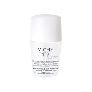 Vichy Deodorant 48Hour Sensitive Skin Anti-Perspirant Roll On 50ml.