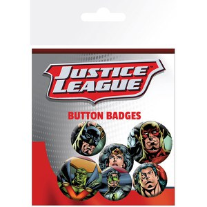 Justice League League - Badge Pack