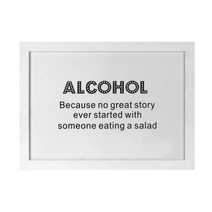 Parlane Alcohol Wall Art - White