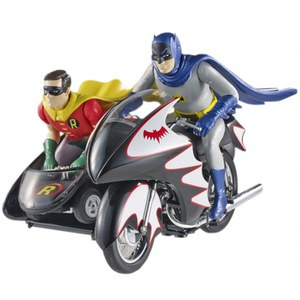 Batman vehículo Hot Wheels 1/12 Classic TV Series Batcycle