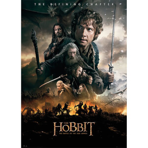 The Hobbit Battle of Five Armies Fire - Giant Poster - 100 x 140cm