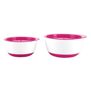 OXO Good Grips Tot Small and Large Bowl Set - Raspberry