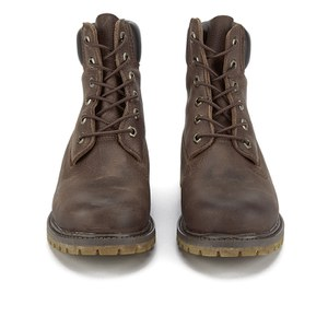 timberland 6-inch premium brown leather womens boots