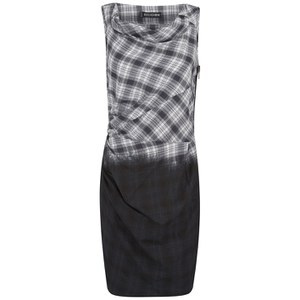 Religion Women's Ombre Tank Dress - Black/White