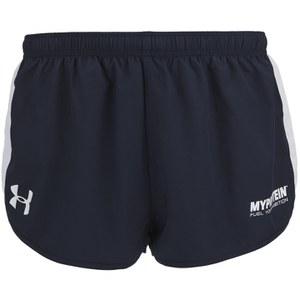 Pantaloncini Atletici Under Armour da Uomo, Blu Navy/Bianco