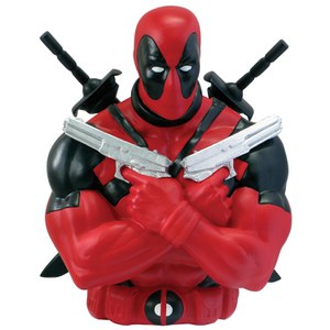 Tirelire Buste Marvel Deadpool