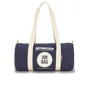 Спортивная брезентовая сумка-бочонок Myprotein - Темно-синий Цвет