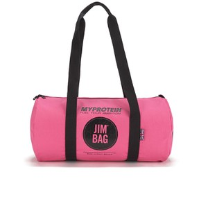 Myprotein Jim Bag Canvas Barrel Bag - Rosa