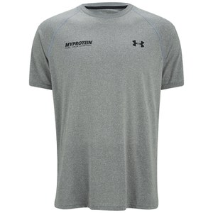 Under Armour® Men's Tech™ T-Shirt - True Grey Heather/Black
