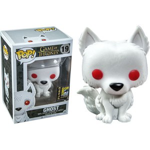 Game of Thrones Flocked Ghost SDCC 2014 Exclusive Pop! Vinyl Figure