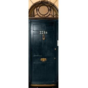 Sherlock 221B - Door Poster - 53 x 158cm