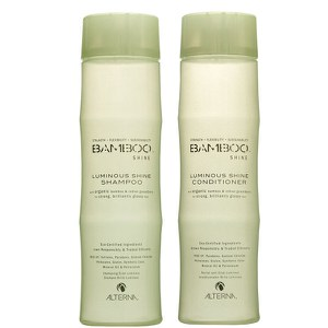 Alterna Bamboo Luminous Shine Shampoo og Conditioner Duo (250ml).