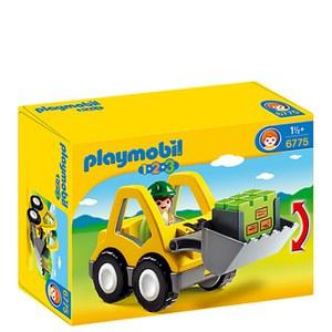 Playmobil -Chargeur et ouvrier (6775)