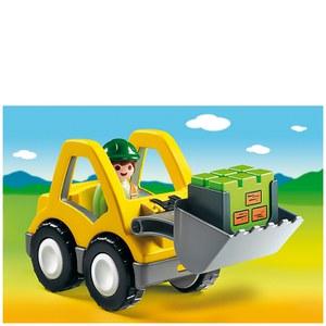 Playmobil 1.2.3 Excavator (6775)