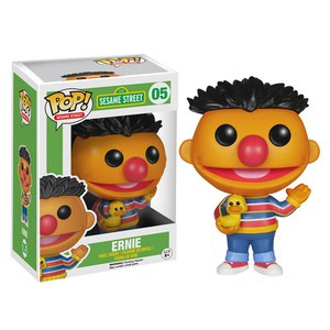Barrio Sésamo Figura POP! TV Vinyl Ernie
