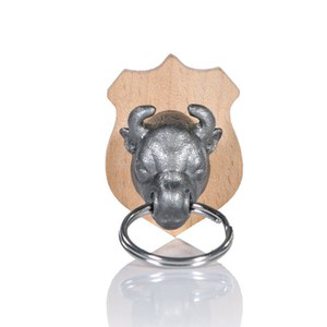 Bull Animal Head Key Holder