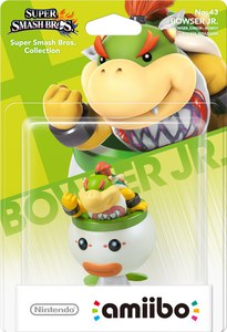 amiibo Super Smash Bros Colección Bowser Jr