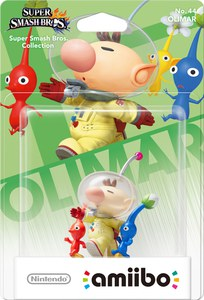 amiibo Super Smash Bros Collection Olimar