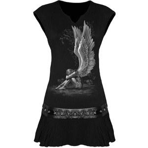 Vestido Spiral Enslaved Angel - Mujer - Negro